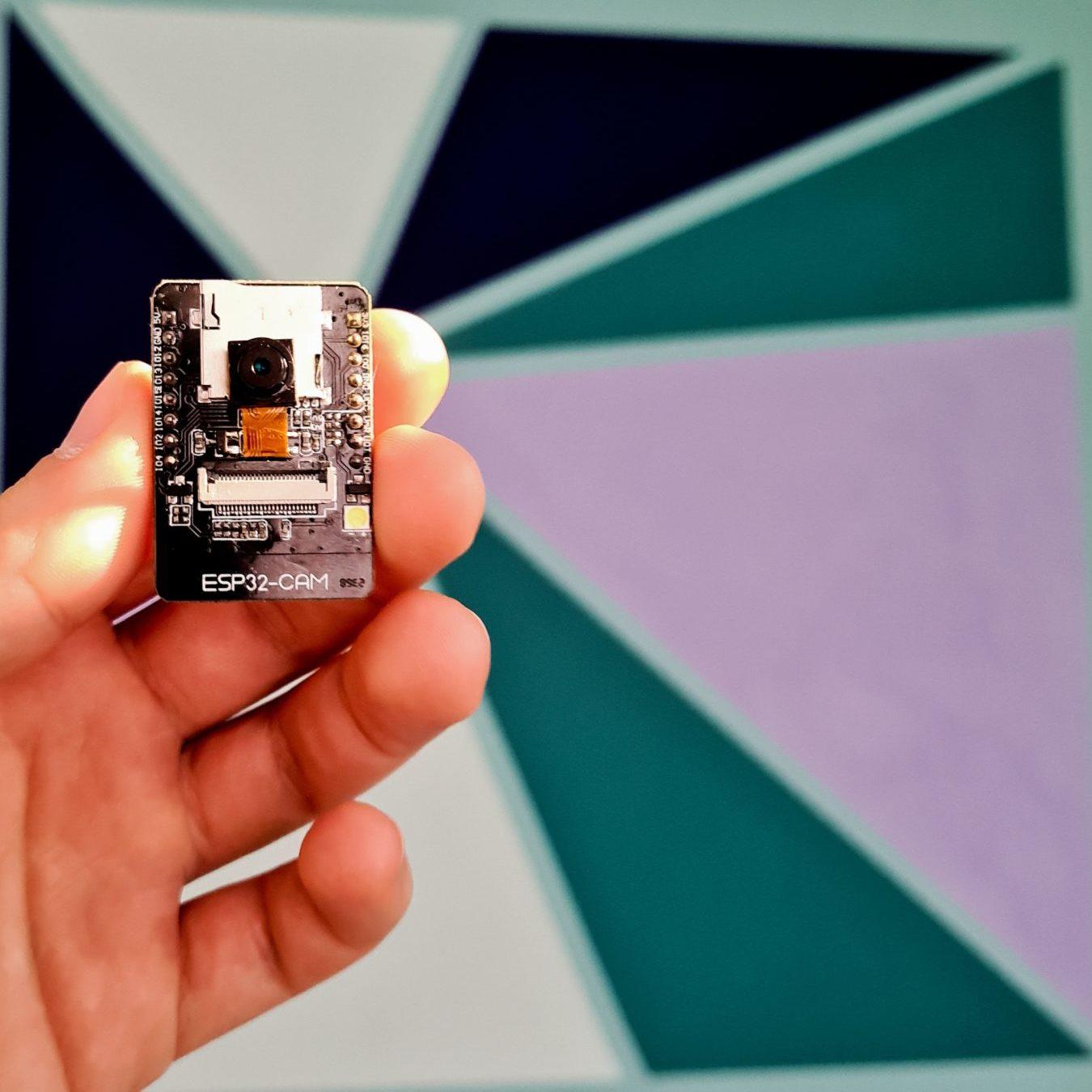 Bezpečnostní Wi-Fi kamera ESP32-cam za 150Kč a integrace do Home Assistanta