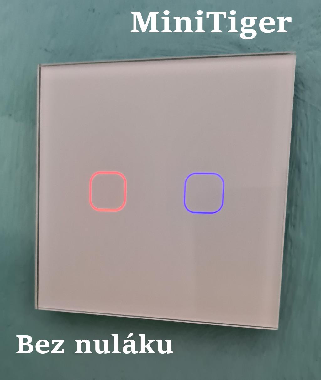 Přehrání firmwaru v MiniTiger vypínačích (ESPHome)
